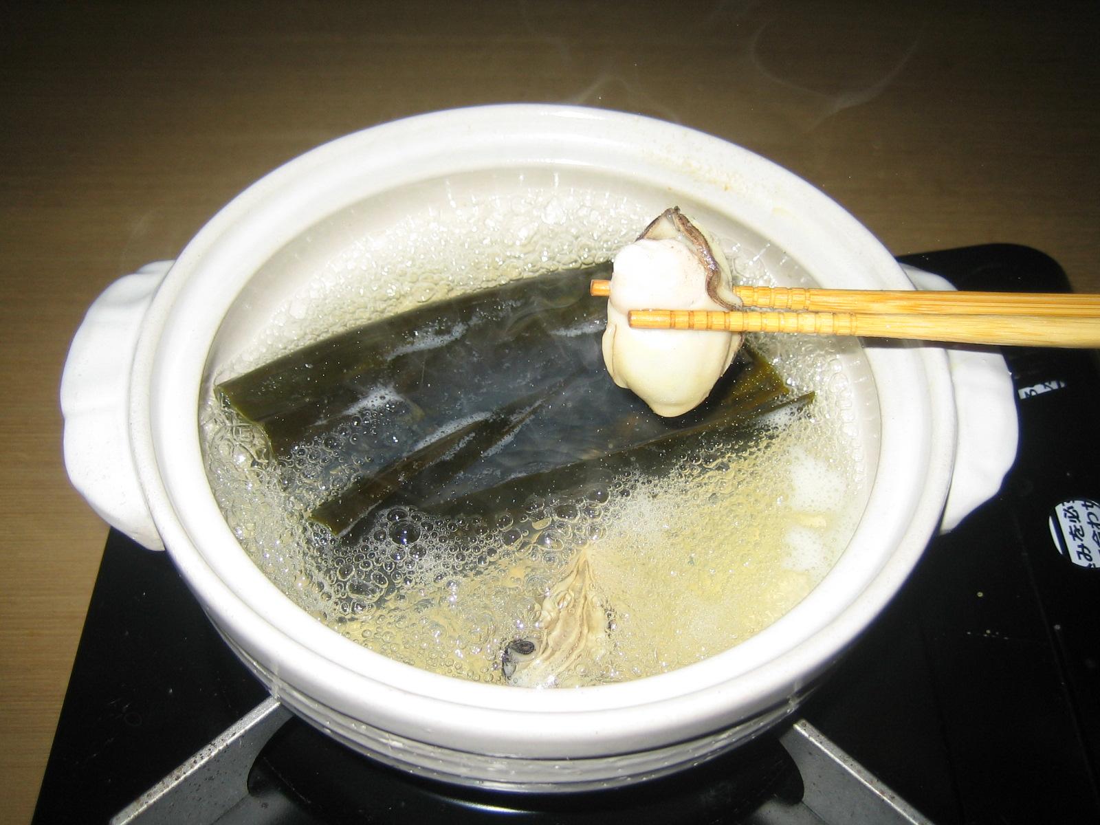 牡蠣しゃぶ